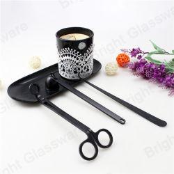 El lujo 3 equipos de atención de la vela de la mecha de la herramienta de trimmer/Snuffer mecha/ tijeras