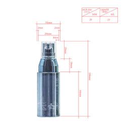 30ml Pet bouteille essentiels de la pompe à personnaliser la Lotion de bouteille de cosmétique