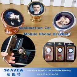2D Parentesi in bianco del telefono mobile dell'automobile di sublimazione