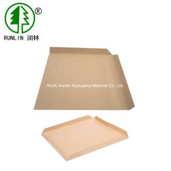 Toda a venda Anti Skid Brown Papel Kraft Palete Folha de Deslizamento