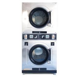 La industria de autoservicio personalizada automática de lavado de Monedas/Lavado secado Limpieza de la máquina de comercial/industrial/Hotel/Hospital/Hotel/escuela/Lavandería