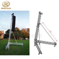 Алюминиевый линейный массив динамик опорную стойку в корпусе Tower