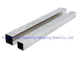 304 En acier inoxydable de grade tube carré soudé