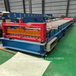 Broodje die van de Laag van het Comité van de Muur van het Dak van het Blad van de Tegel van het aluminium het Trapezoïdale Enige Dubbele Machine vormen