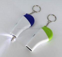 Outil polyvalent tournevis Pocket torche LED LED de la clé de la chaîne de clé
