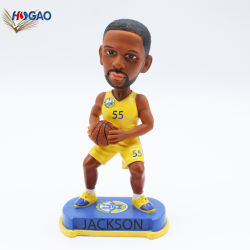 Nouveau produit Sport figurine personnalisée joueur de baseball de résine Jackson Bobble Head