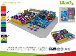 La Chine intérieure personnalisés professionnels basé sur le trampoline Amusement Park