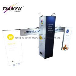 Китайский производитель пользовательский дизайн Многоразовые стандартные выставки фоне подставку дисплея