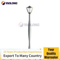 Einfache installierende Aluminiumstraße LED heller Pole für Quadrat