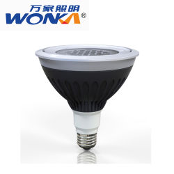 Lâmpadas de Iluminação exterior à prova de 3000K a lâmpada de luz de LED Par38