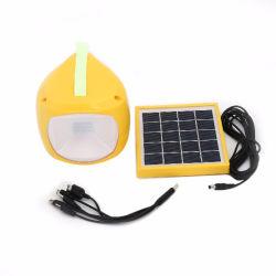 Portátil asequible Solar LED lámpara de lectura de la tabla de la luz de la energía para interiores la iluminación solar