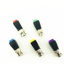 Микро мини CCTV HD Мужчины Женщины разъем BNC штекер адаптера с помощью винта терминала для RG59 RG6 коаксиальный кабель видео передатчика