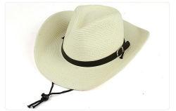 Оптовая торговля мода пользовательские печатаются на открытом воздухе забавные соломы документ ковбой безопасности соломы Red Hat