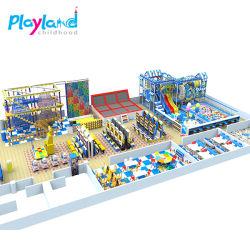 Tema das florestas comerciais de venda quente playground coberto brinquedos para crianças