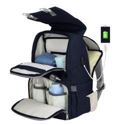 Saco de Fraldas Backpack para o Mom & Dad grande capacidade multifuncional de Saco de Fraldas mochila de Viagem Design Saco de enfermagem para cuidar do bebê