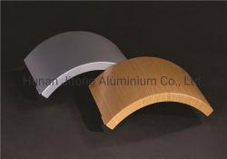 Het multi Comité van het Aluminium van de Ontwerpen van Stijlen Gebogen Stevige Dubbel