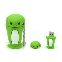 Lapin mignon dessin animé personnalisé lecteur Flash USB en PVC Logo personnalisé Pendrive USB3.0 4GO USB2.0 8 GO de 16Go à 32 Go