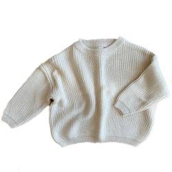 100%년 면 호주 작풍에 의하여 뜨개질을 하는 소녀 잠바 아이들 스웨터 아기 스웨터