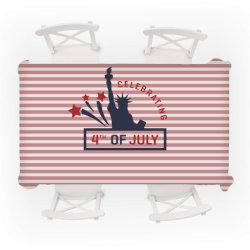 4 juillet heureux jour Indepence Design Linge de maison Décoration de table Nappe étanche