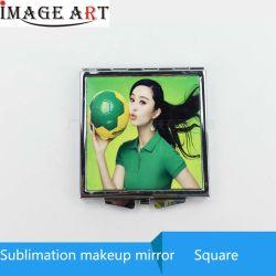 La sublimación de doble cara de metal imprimible compacto espejo para la impresión de transferencia de calor de bricolaje
