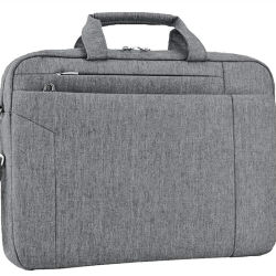 Bussiness transportant toile imperméable à l'épaule sacs pour ordinateur portable 15,6 pouces