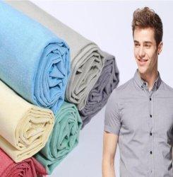 Polyester-Baumwolltc-Normallack-Garn gefärbtes gesponnenes Hemd-Gewebe