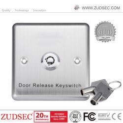 キーの高品質のステンレス鋼のドアリリースKeyswitchの緊急時のドアのスイッチ・ボタン