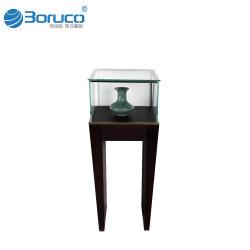 Vetrina semplice di vetro della visualizzazione della memoria di monili del negozio di disegno moderno del contatore