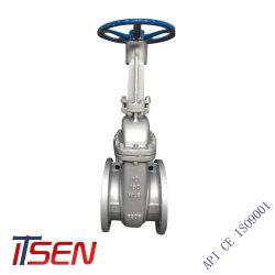 ANSI/api/ASTM/Wcb ASME/SUS304/SUS316 2~48 Polegadas Válvula de gaveta com flanges (Classe150/300/600/800)