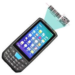 Nível industrial IP67 de mão Bluetooth WiFi 4G Scanner de Código QR PDA