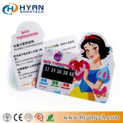 China Factory OEM tamanho personalizado e moldar o cartão de temperatura de plástico