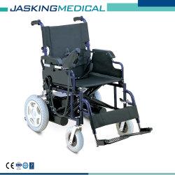 セリウム及びISOフォーシャンの工場経済的な折る鋼鉄電動車椅子(JX-020A)