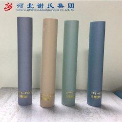 Papier peint gaufré Film PVC pour le Cabinet de bord feuille décorative avec une couleur unie