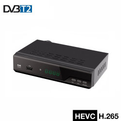 Junuo Set Top Box HD MPEG4 H. 265 récepteur TV numérique DVB T2