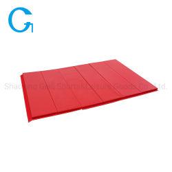 Commerce de gros en PVC rouge XPE Grand Tapis de fitness Salle de Gym de pliage