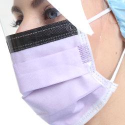 Professionelle chirurgische Wegwerfgesichtsmaske mit Glas-Augen-Schild