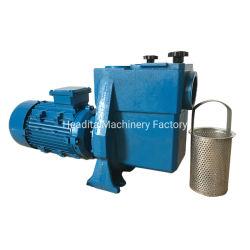 Le bleu piscine d'eau en fonte avec filtre de pompe