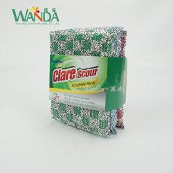 Venta caliente de la producción profesional de la esponja de limpieza estropajos de cocina