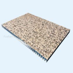 Pannelli a sandwich di alluminio rivestiti di pietra di memoria di favo di sguardo PVDF per il rivestimento della parete