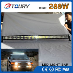 Авто 288W 50-дюймовый светодиодный фонарь рабочего освещения бар Offroad 4WD лампы для автомобиля