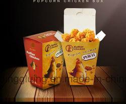 자동적인 크래쉬 자물쇠 바닥 감자 튀김 프랑스 칩 상자 팝콘 상자 폴더 Gluer (GK-780CA)