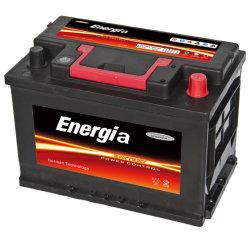 заводская цена 12V свинцово-кислотный аккумулятор Mf Auto аккумуляторной батареи 66AH