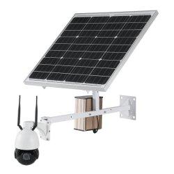 Full HD 1080P 2 МП 60W 40AH солнечной энергии на базе Wireless WiFi для использования вне помещений CCTV IP-камера видеонаблюдения с 5X оптическим зумом
