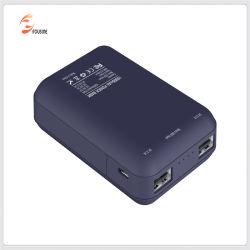 2 USB ausgegebene intelligente Energien-Bank der hohen Kapazitäts-10000mAh