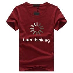 남자의 t-셔츠 우연한 O 목 간결 소매는 크기 5XL 플러스 재미있은 t-셔츠 남자 t-셔츠 여름 형식 티 셔츠 Homme를 인쇄했다