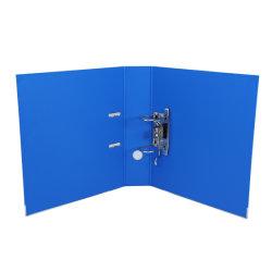 Personalizar carpeta de anillas de PVC de 2 Carpeta de archivos de la Caja, la palanca de archivo de arco