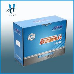 Vakje van de Verpakking van het Embleem van het Document van de merknaam het Douane Afgedrukte voor Gift