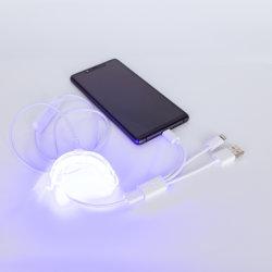 Natureza Glorysmile LED isento de peróxidos Kit de branqueamento dos dentes