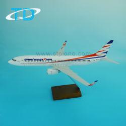 B737-800 가늠자 1/100 전시 모형 항공기