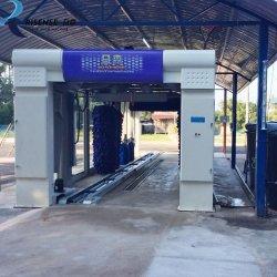 9 pinceles de túnel de lavado de coches de la máquina con sistema de secado Risense CC-690/ túnel automático sistema de lavado de coches